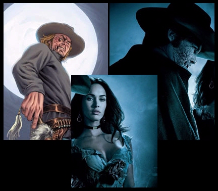Jonah Hex comic vs movie